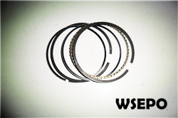 Wholesale 154F 3hp(87cc) Gasoline Engine Parts,Piston Ring Set